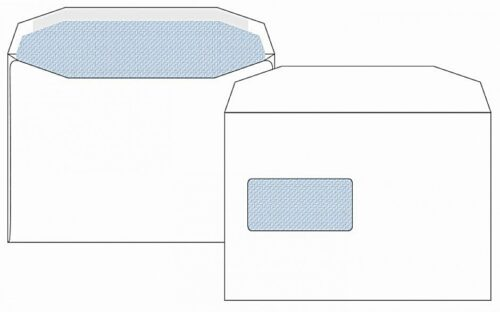 C5 Window Envelopes White