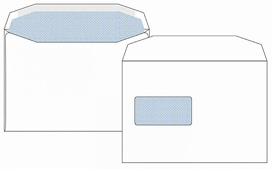 C5 Window Envelopes White
