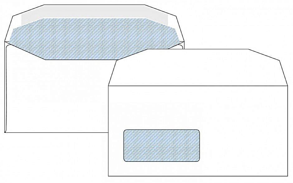 DL Window Envelopes White