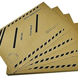 Buy Brown Late Meter Posting Envelopes - Box of 250