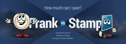 Frank vs Stamp Postage Calculator