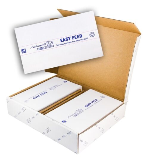 Easy Feed 2 on 1 Franking Machine Labels