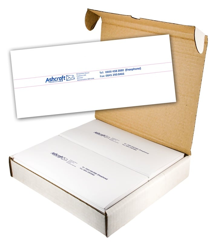 Text Facility 2 on 1 Long Franking Machine Labels
