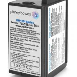 Pitney Bowes DM100i/200i Franking Machine Ink Cartridge 793-5SB