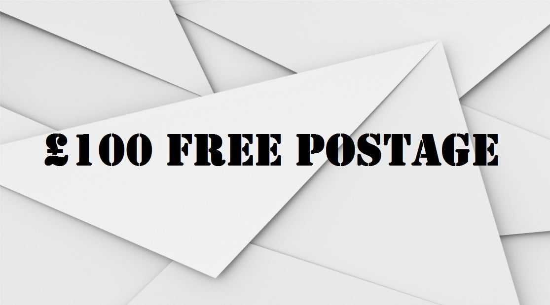 £100 Free Postage