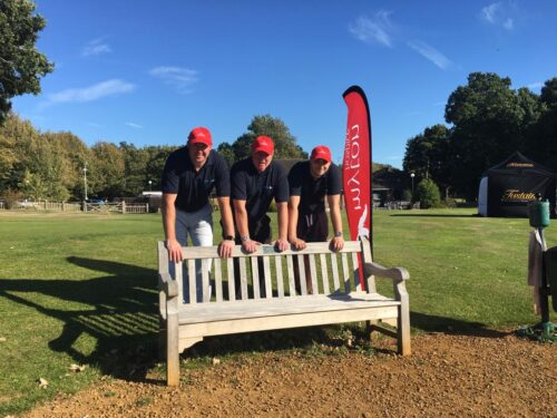 Ashcroft Tee Off for Myton Hospices Charity Golf Day