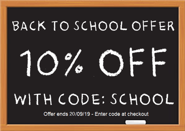 Back to school offer